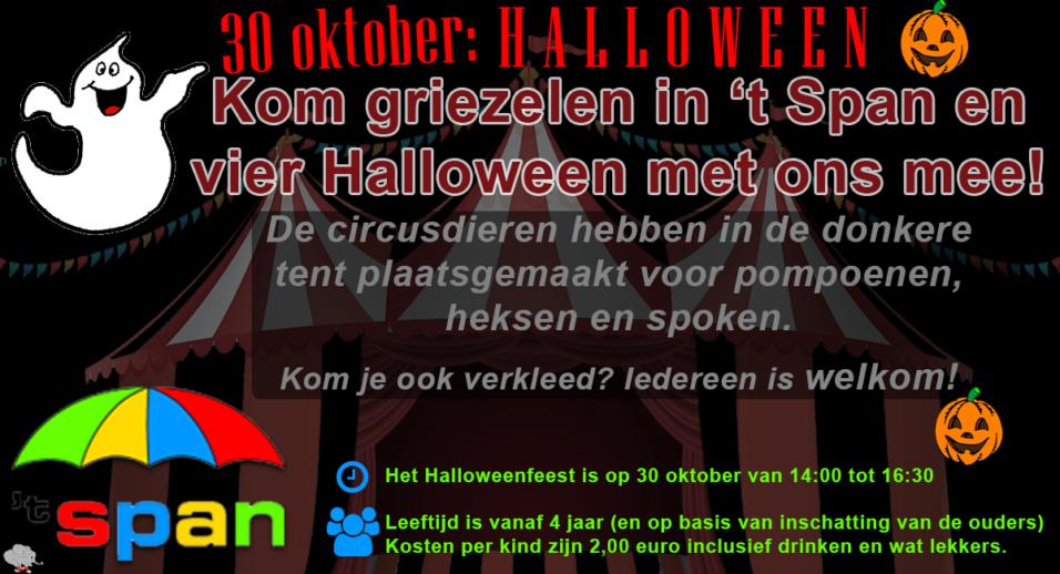 Halloween Speeltuin 't Span
